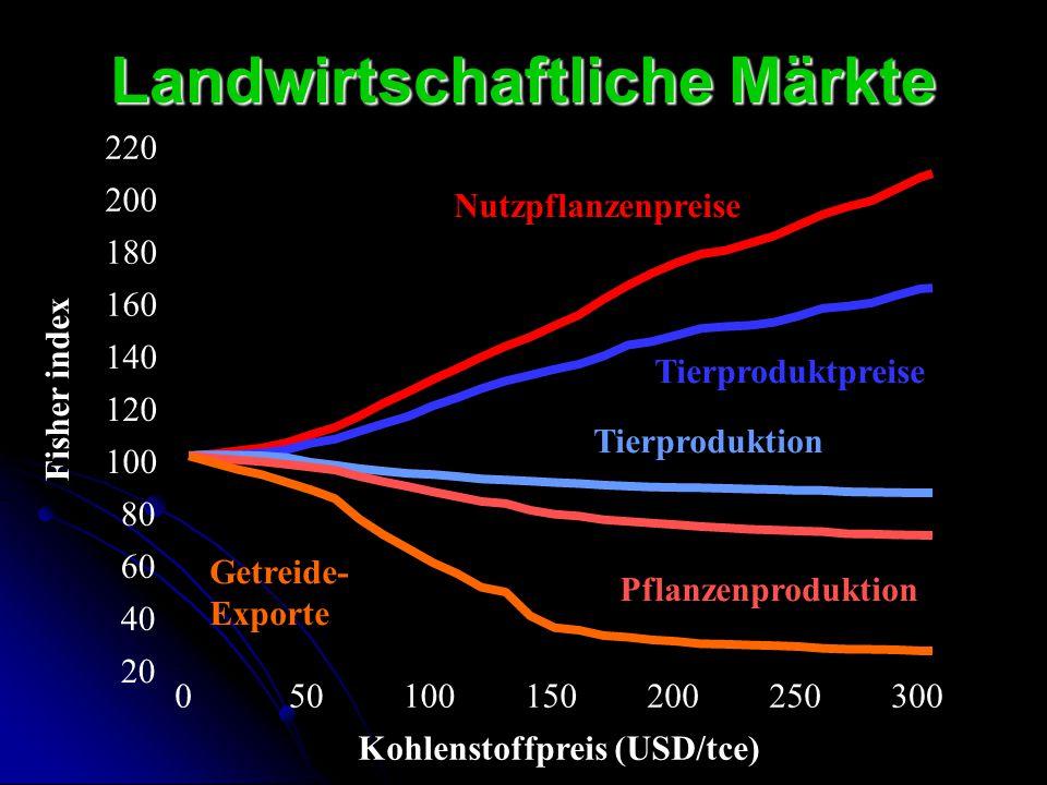 Landwirtschaftliche Märkte