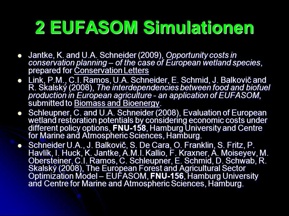 2 EUFASOM Simulationen