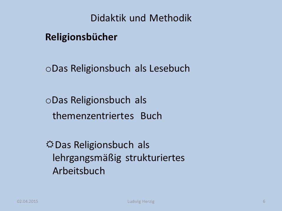 Das Religionsbuch als Lesebuch Das Religionsbuch als