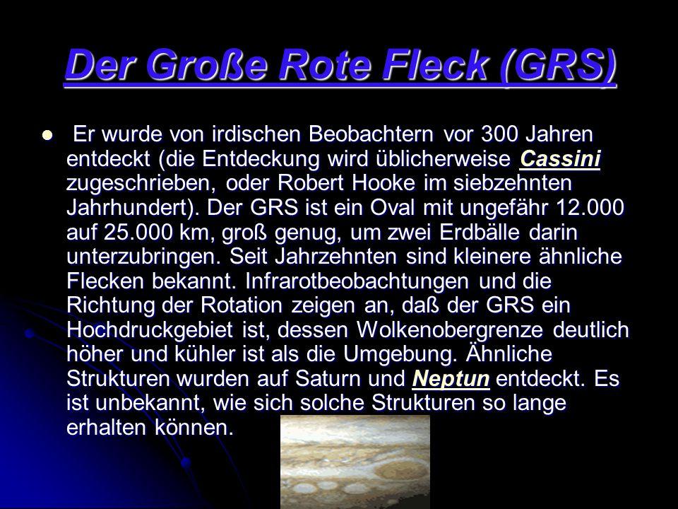 Der Große Rote Fleck (GRS)