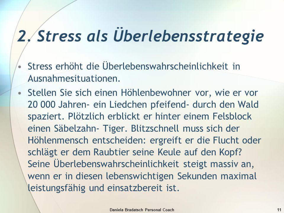 2. Stress als Überlebensstrategie