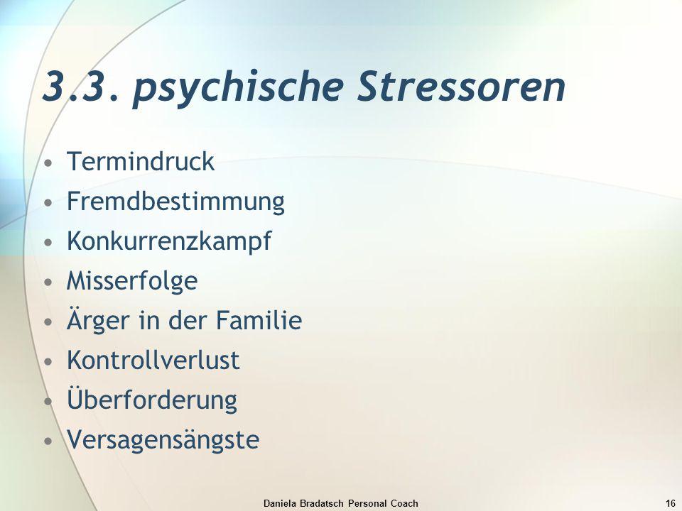 3.3. psychische Stressoren