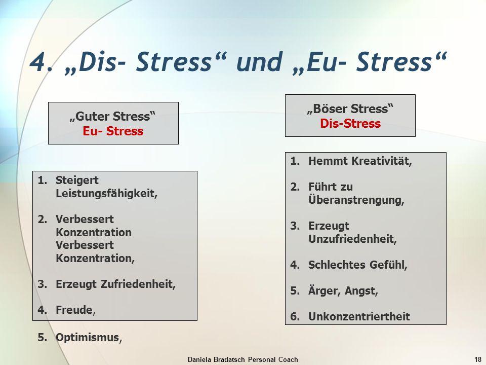 "4. ""Dis- Stress und ""Eu- Stress"