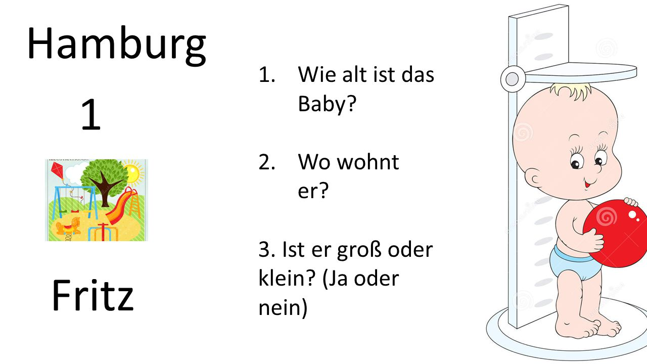 Hamburg 1 Fritz Wie alt ist das Baby Wo wohnt er