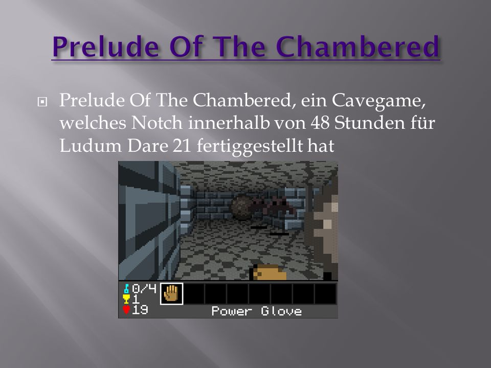 Prelude Of The Chambered