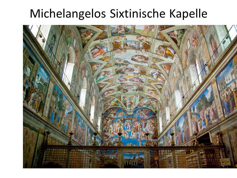 Michelangelos Sixtinische Kapelle