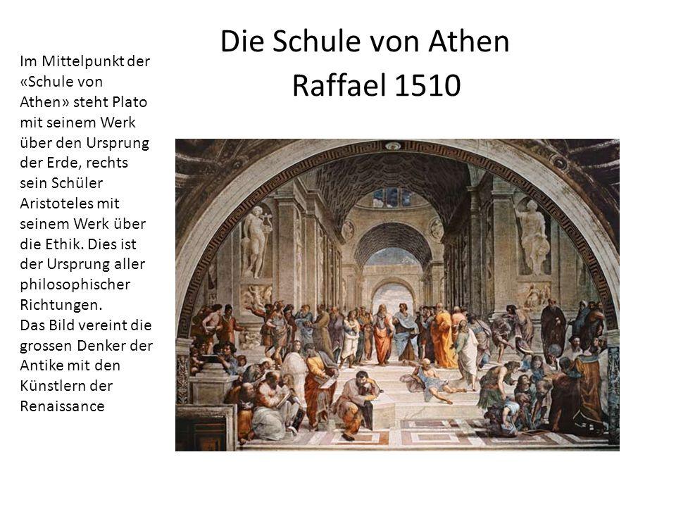 Die Schule von Athen Raffael 1510