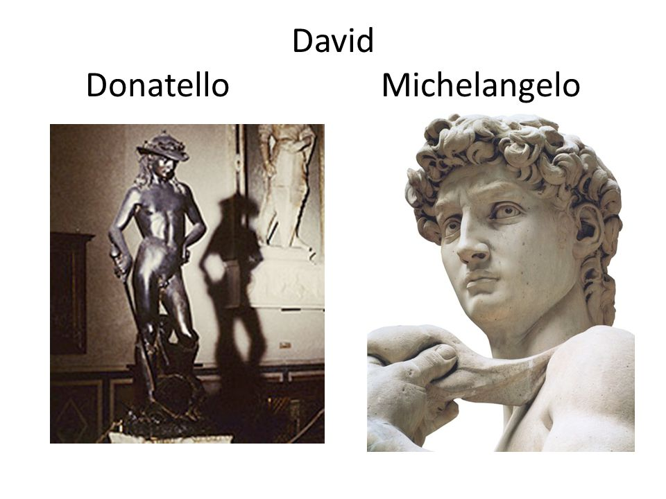 David Donatello Michelangelo