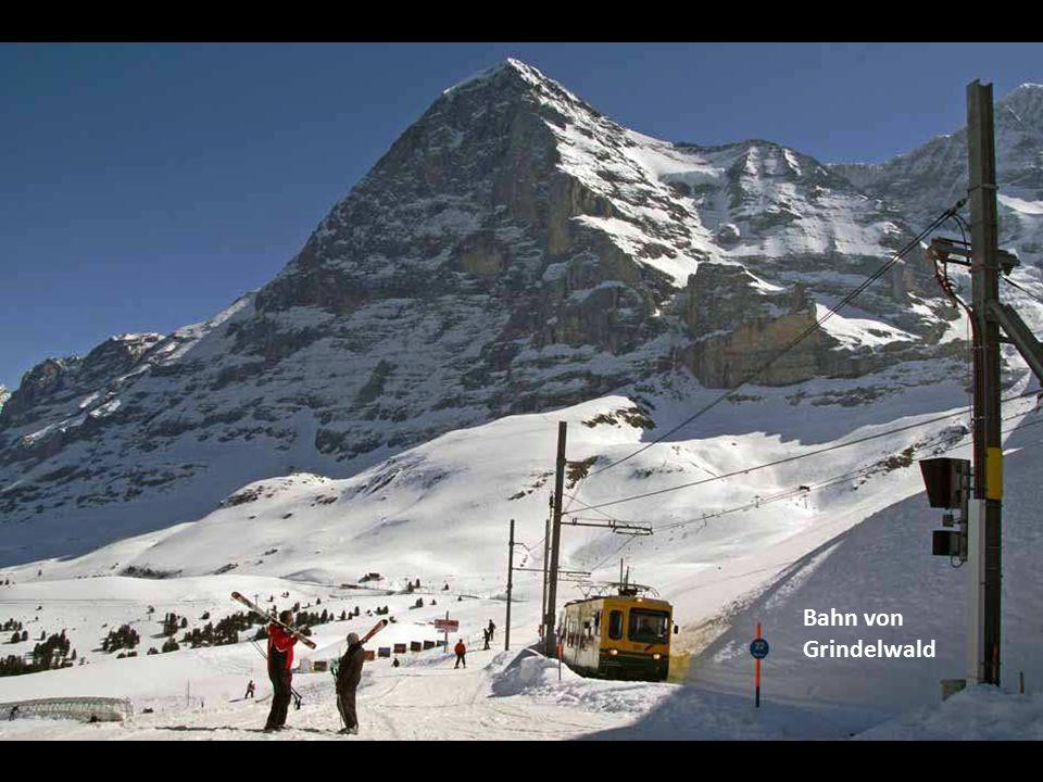 Bahn von Grindelwald