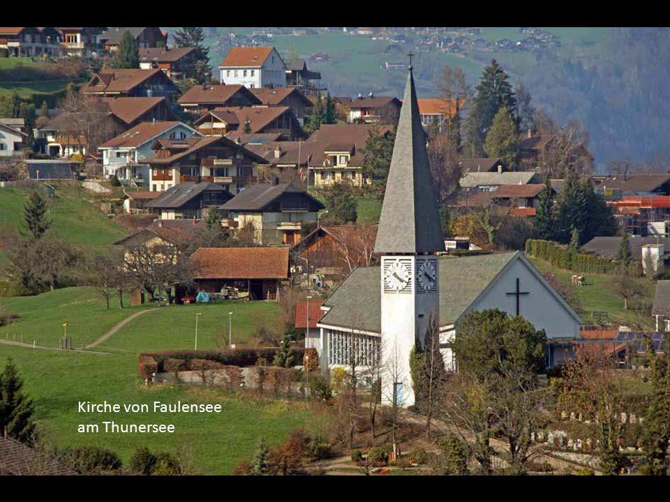 Kirche von Faulensee am Thunersee