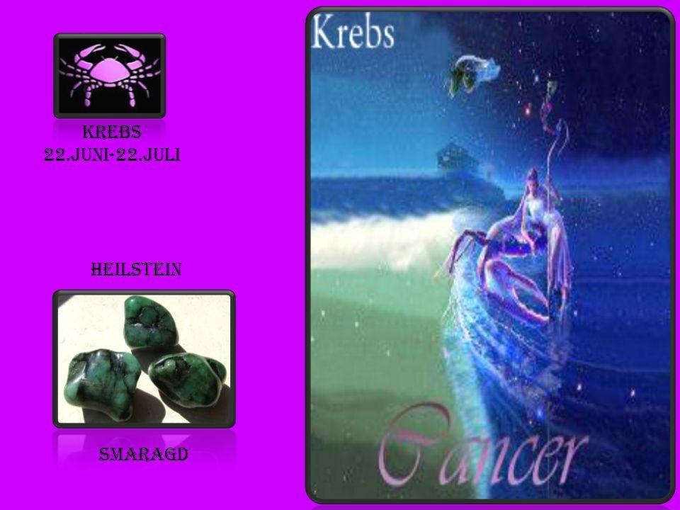 Krebs 22.juni-22.juli heilstein smaragd