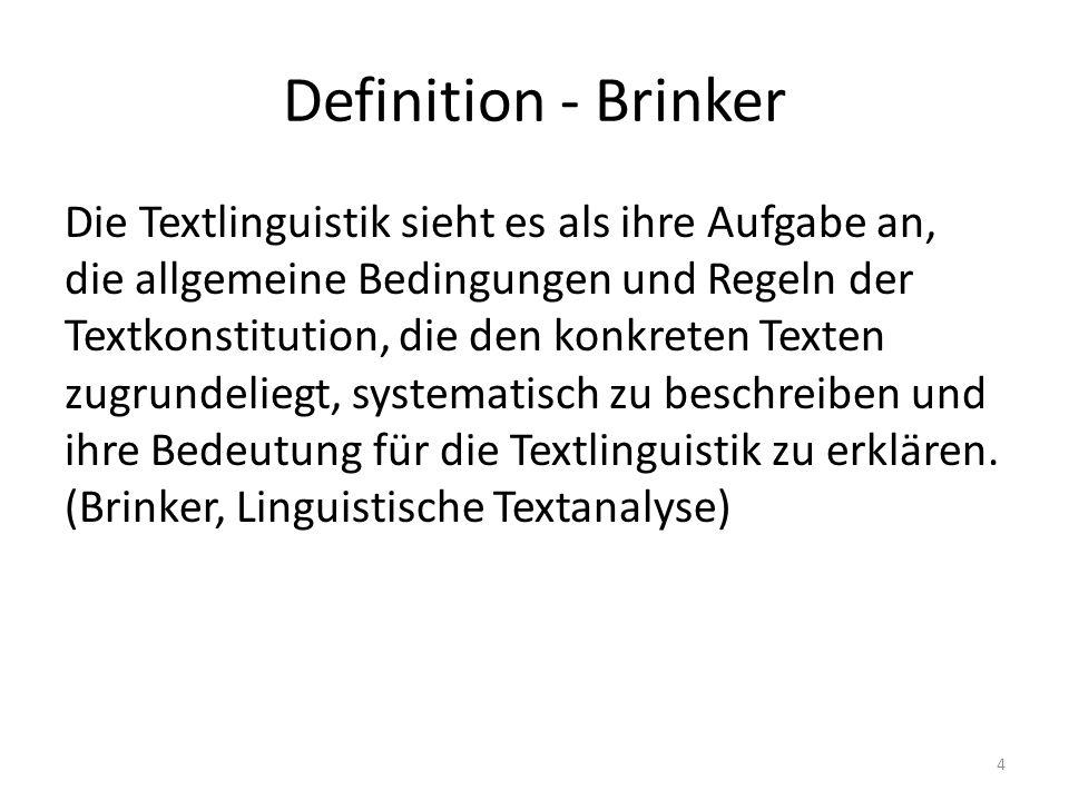 Definition - Brinker
