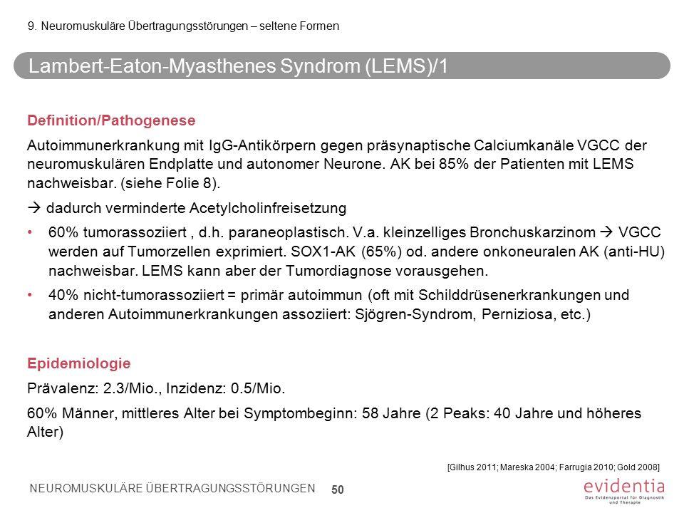 Lambert-Eaton-Myasthenes Syndrom (LEMS)/1