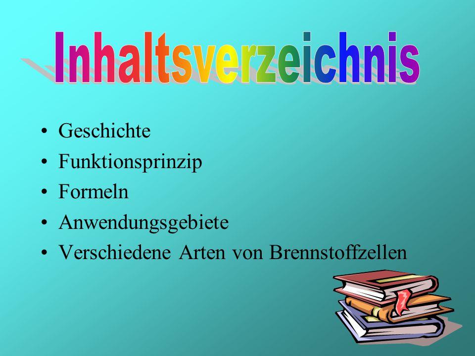Inhaltsverzeichnis Geschichte. Funktionsprinzip.