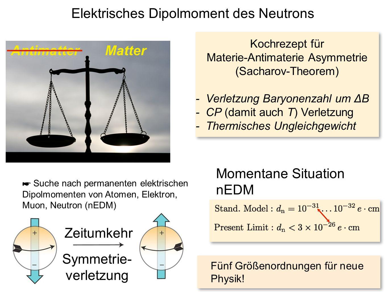 Elektrisches Dipolmoment des Neutrons