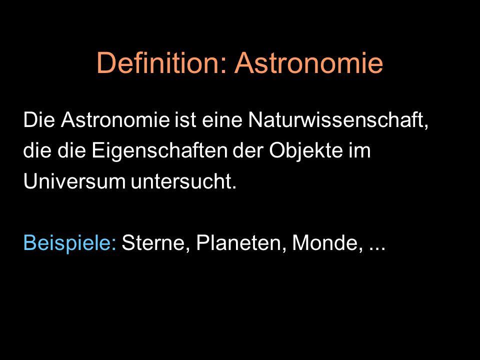 Definition: Astronomie