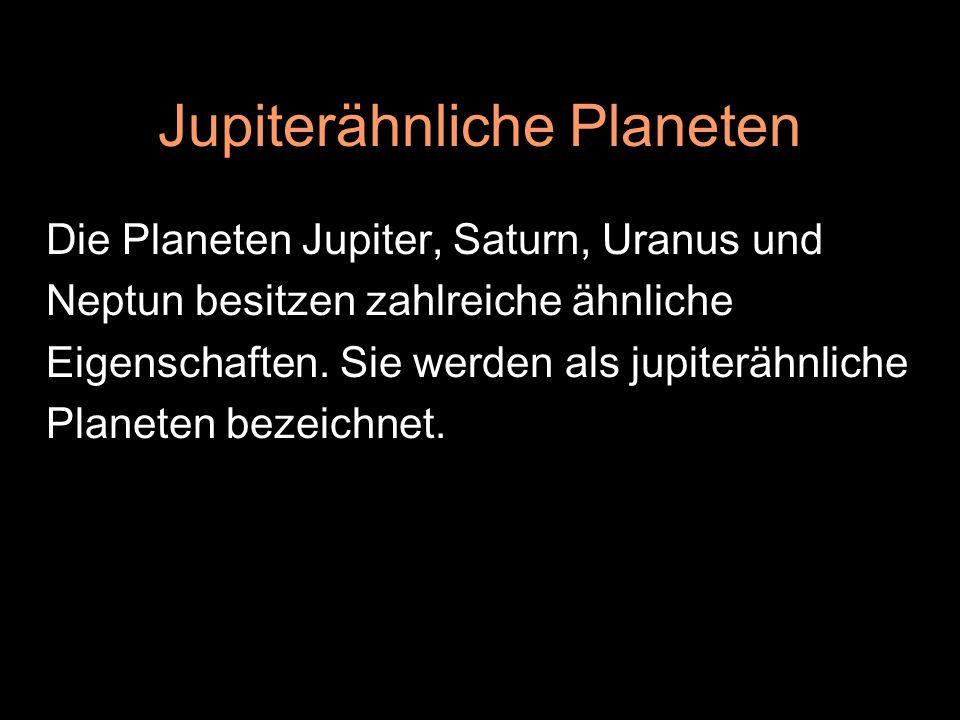 Jupiterähnliche Planeten