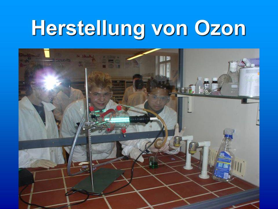 Herstellung von Ozon
