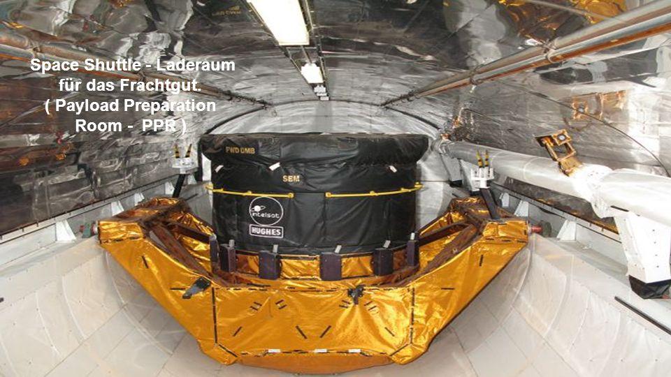 Space Shuttle - Laderaum für das Frachtgut