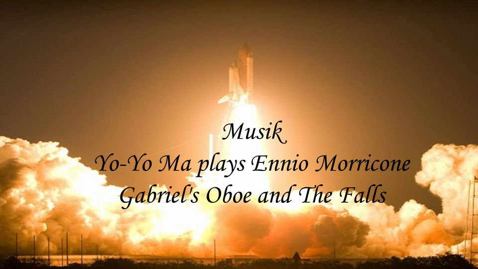 Musik Yo-Yo Ma plays Ennio Morricone Gabriel s Oboe and The Falls
