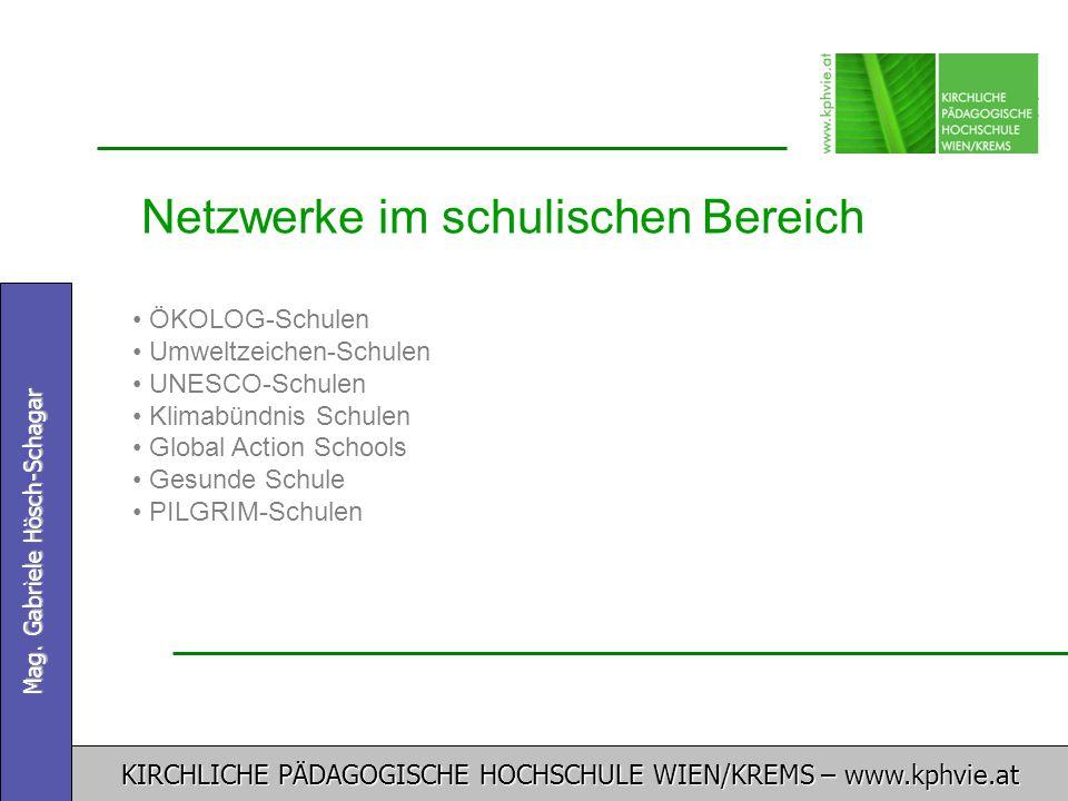 Netzwerke im schulischen Bereich