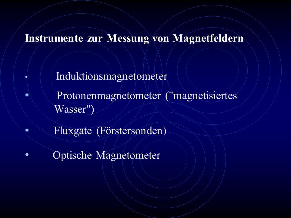 Instrumente zur Messung von Magnetfeldern