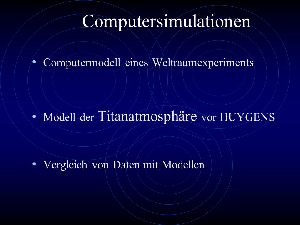 Computersimulationen