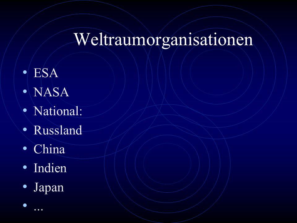 Weltraumorganisationen