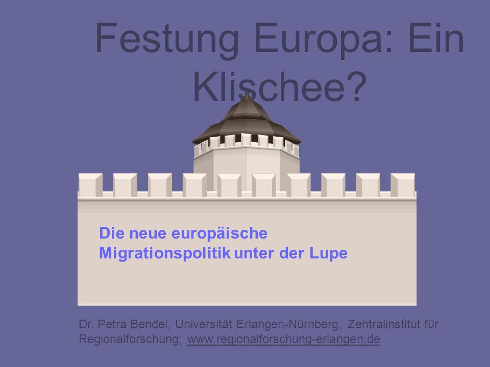 Festung Europa: Ein Klischee