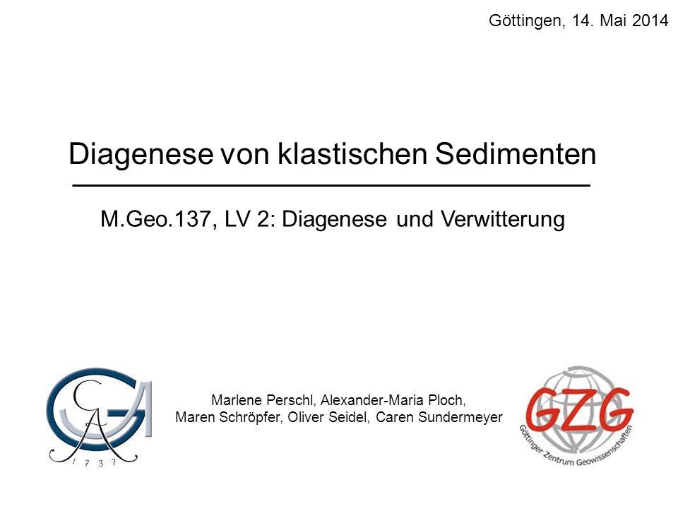 Diagenese von klastischen Sedimenten