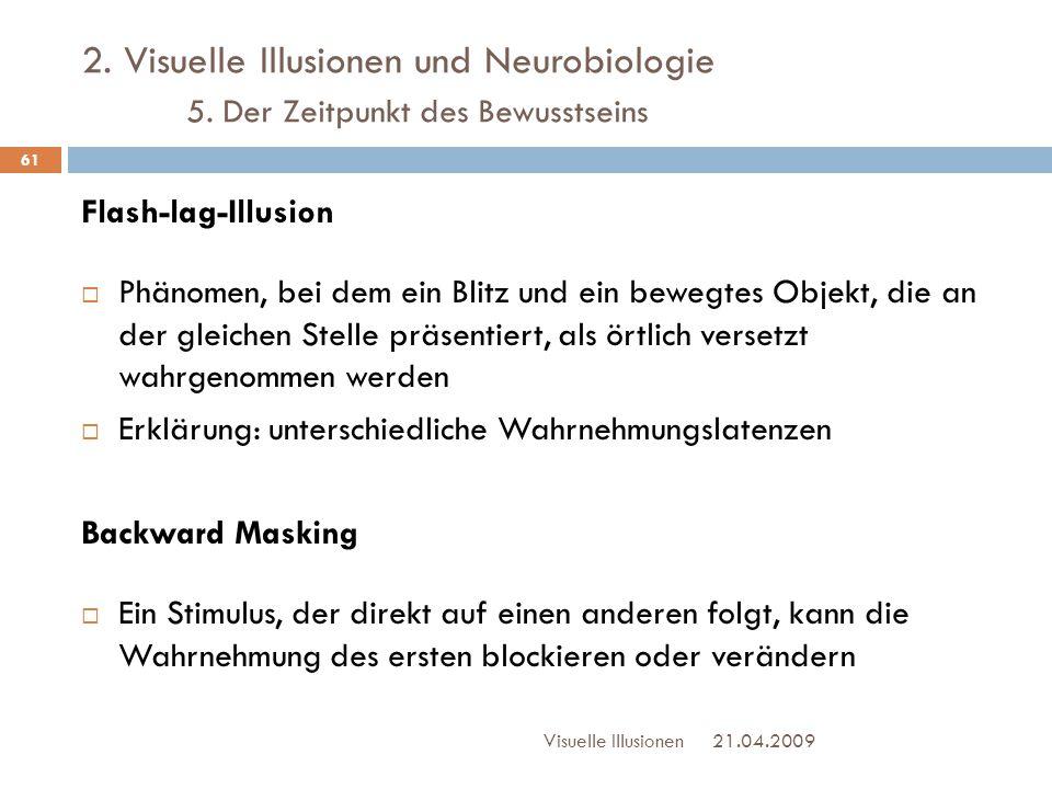 2. Visuelle Illusionen und Neurobiologie. 5