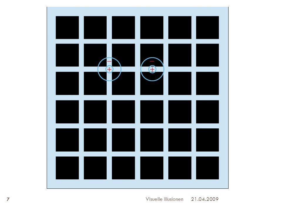 Visuelle Illusionen 21.04.2009