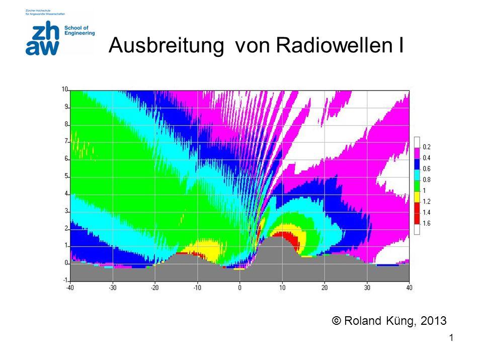 Ausbreitung von Radiowellen I