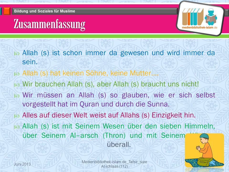Medienbibliothek-islam.de_Tafsir_sure Al-ichlaas (112)