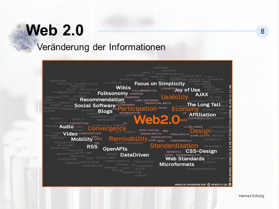 Web 2.0 8 Veränderung der Informationen
