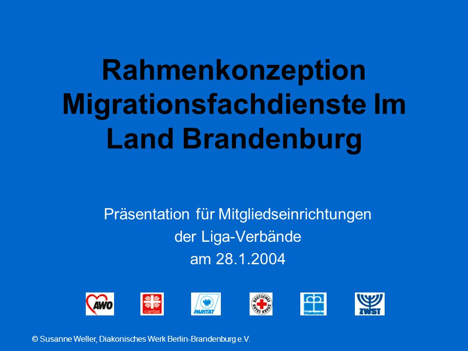 Rahmenkonzeption Migrationsfachdienste Im Land Brandenburg
