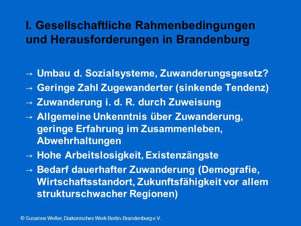 I. Gesellschaftliche Rahmenbedingungen und Herausforderungen in Brandenburg