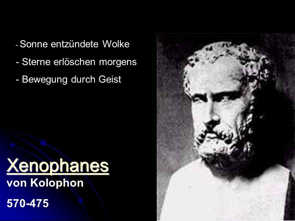 Xenophanes von Kolophon