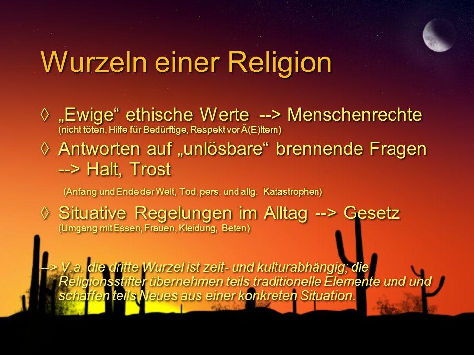 Wurzeln einer Religion
