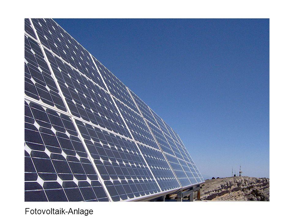 Fotovoltaik-Anlage