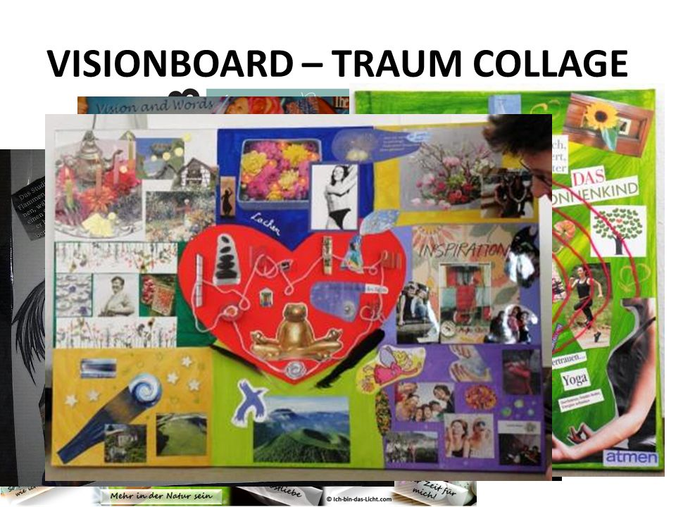 VISIONBOARD – TRAUM COLLAGE