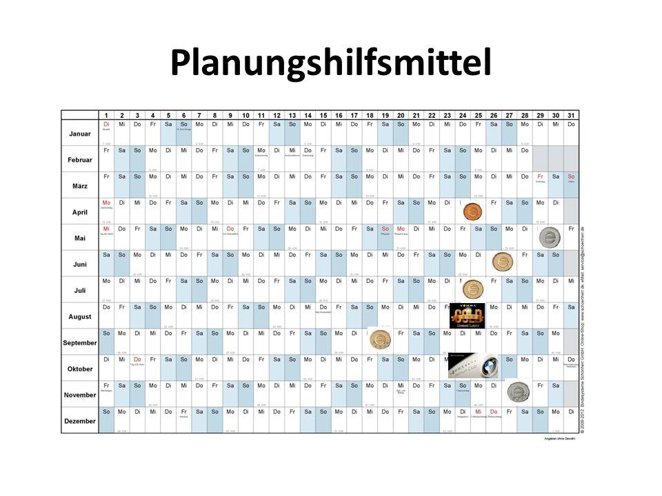 Planungshilfsmittel