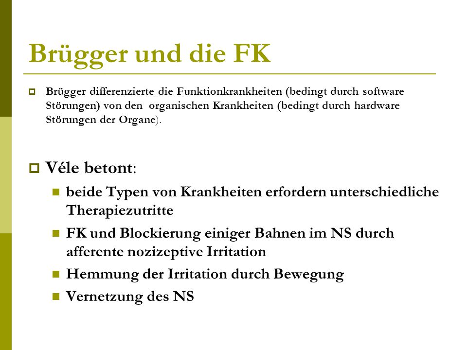 Brügger und die FK Véle betont: