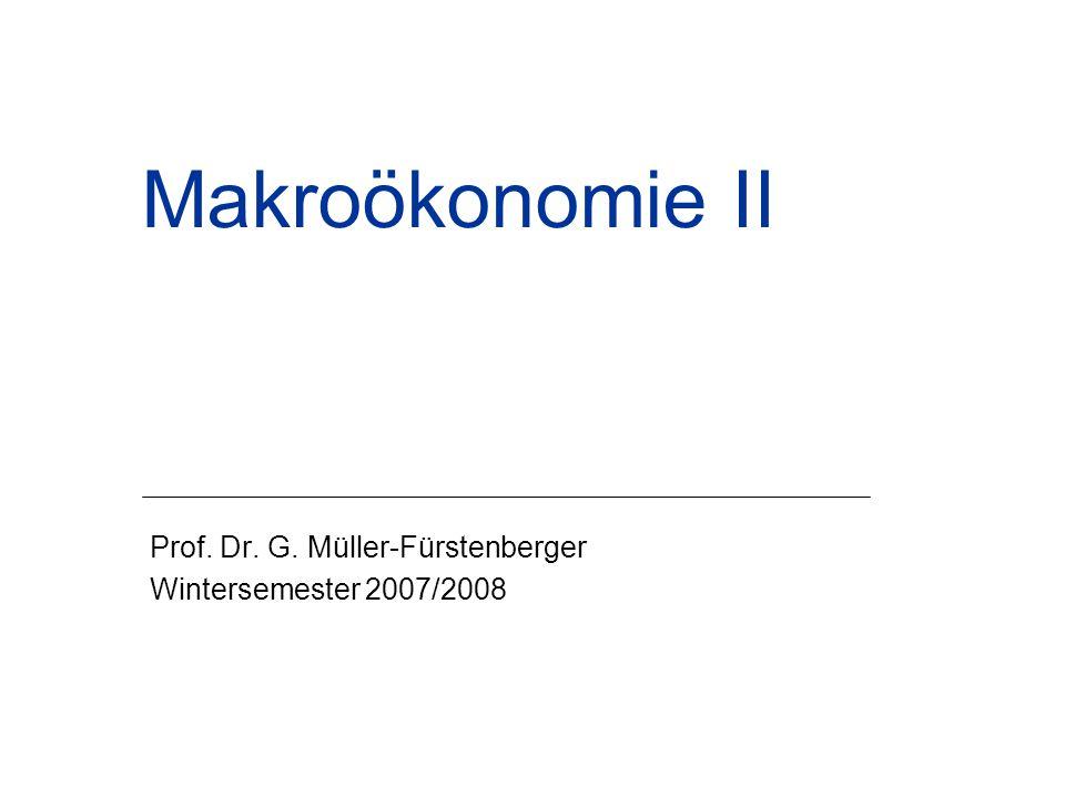 Prof. Dr. G. Müller-Fürstenberger Wintersemester 2007/2008