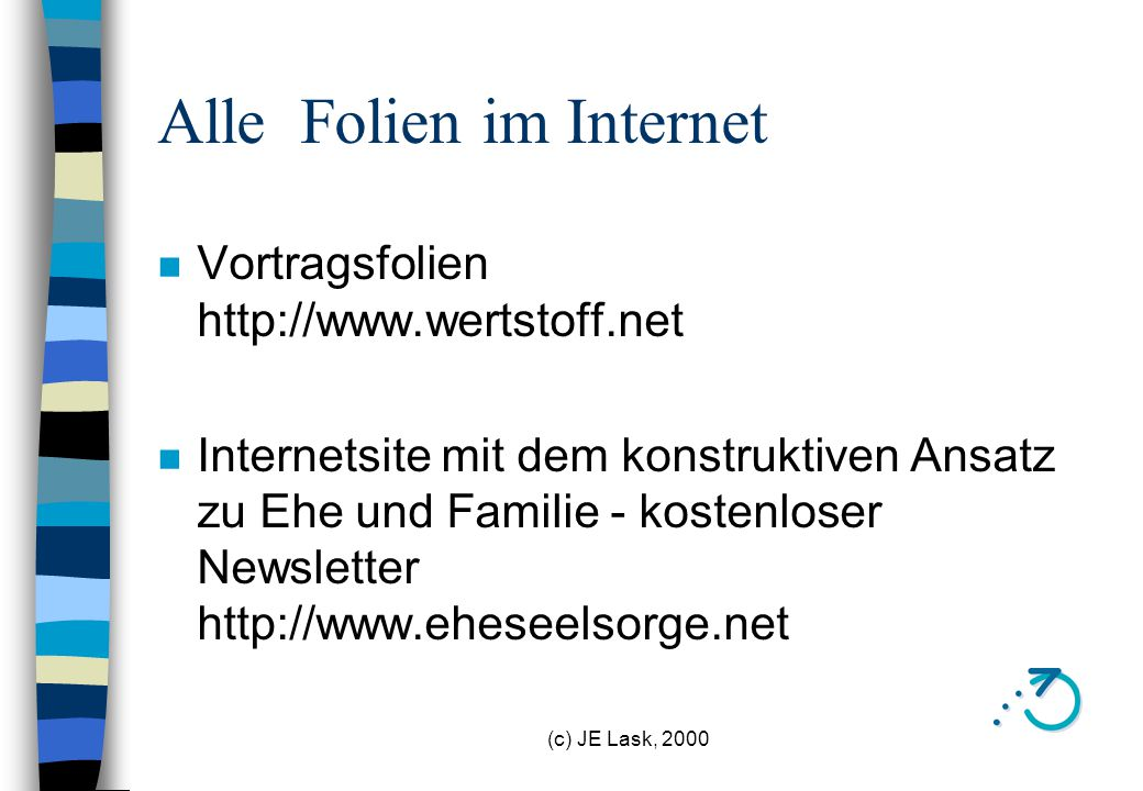 Alle Folien im Internet