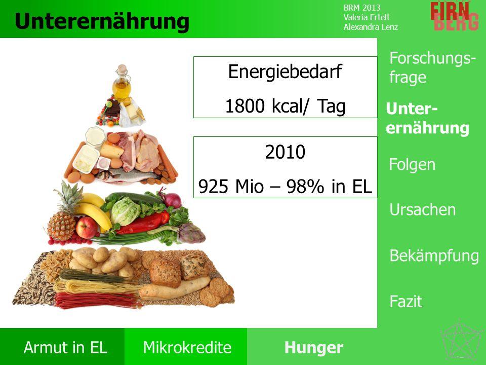 Energiebedarf 1800 kcal/ Tag