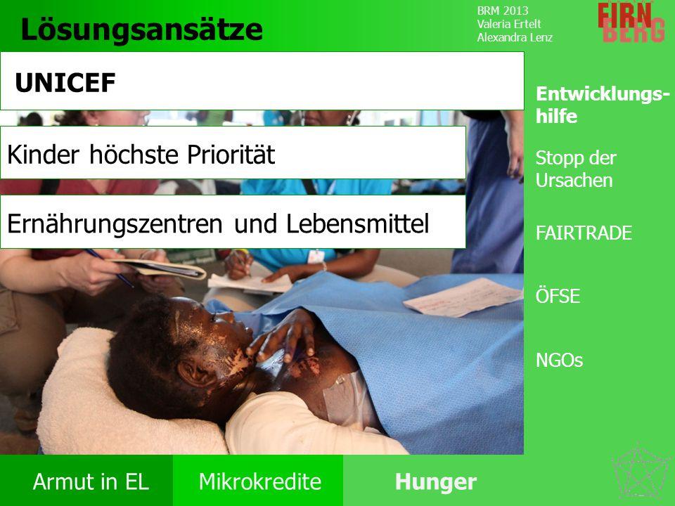 Lösungsansätze UNICEF Kinder höchste Priorität