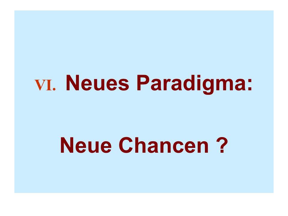 VI. Neues Paradigma: Neue Chancen