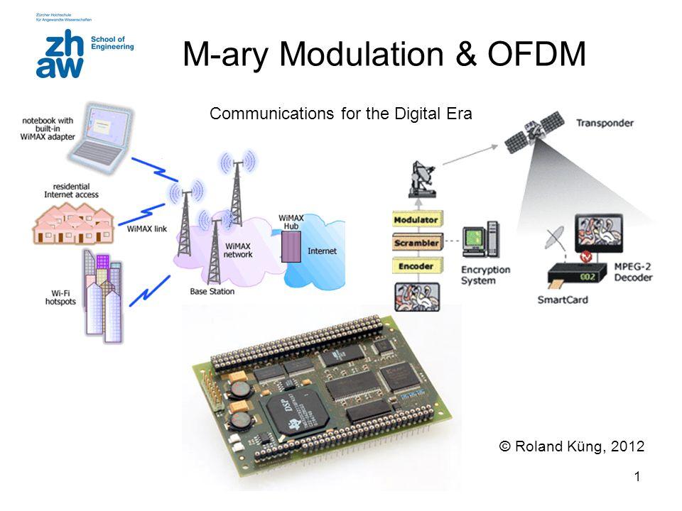 M-ary Modulation & OFDM