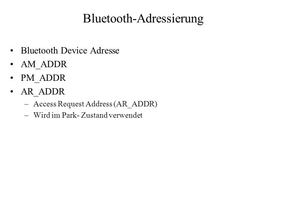 Bluetooth-Adressierung